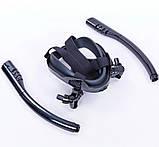 Маска для плавания и снорклинга с дыханием через нос с  двумя трубками (542187845), фото 5