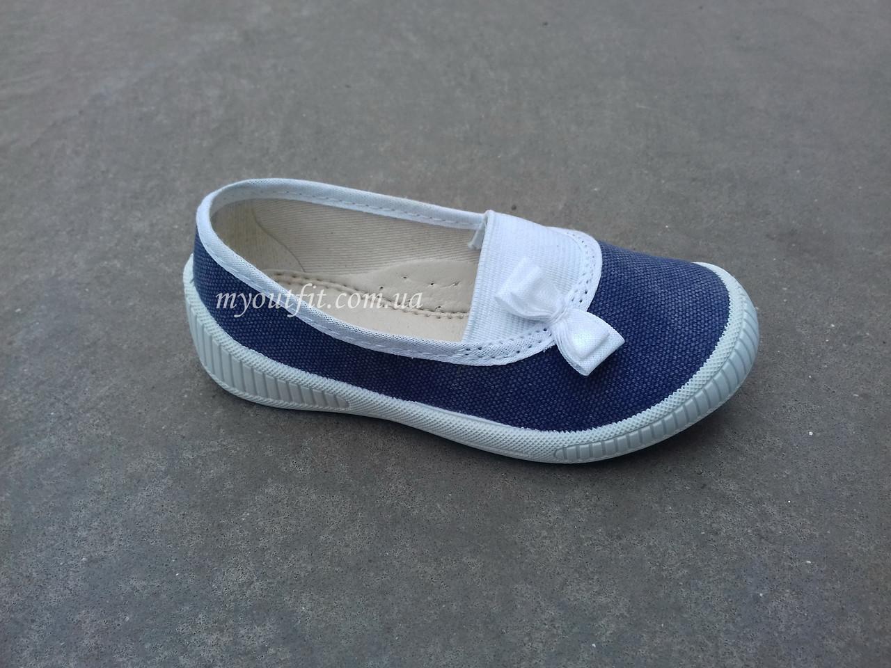 Детские туфли Джинсовые Размеры 21-26