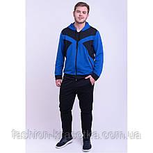 Мужской спортивный костюм цвет электрик,размеры:48,50,52,54,56.
