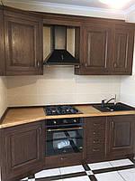 Кухня деревянная мини