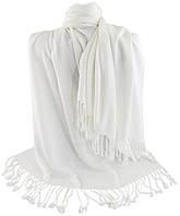 Женский белый шарф Traum 2493-891