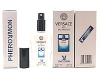Тестер в подарочной упаковке VERSACE MAN EAU FRAICHE 60 мл в цветной упаковке с феромонами реплика
