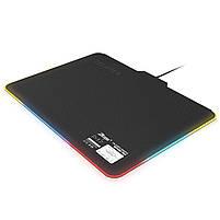 ☞Коврик с подсветкой ZELOTES P-17 для мыши светодиодный игровой для Пк и ноутбука, фото 2