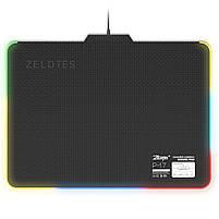 ☞Коврик с подсветкой ZELOTES P-17 для мыши светодиодный игровой для Пк и ноутбука, фото 4