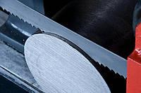Порезка металла ленточной пилой