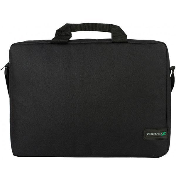 Сумка для ноутбука Grand-X SB-115 Black прочная надежное хранение перенос