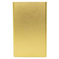 ➚Ультратонкий Power bank Strong PB-201 Gold 10400 mAh внешний аккумулятор для подзарядки гаджетов microUSB