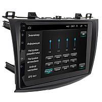 "Штатная магнитола для автомобиля Mazda 3 (2009-2013) 9"" сенсор 1/16 Гб GPS навигация FM USB вход Wi Fi, фото 3"