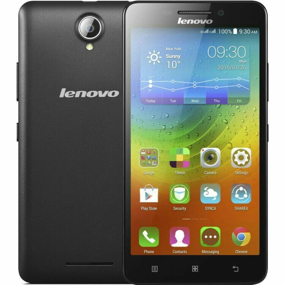 Смартфон Lenovo A5000 1/8Gb Black + Подарок Защитное Стекло