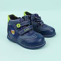 Ботинки на мальчика, детская демисезонная обувь тм ТОМ.М размер 18,19