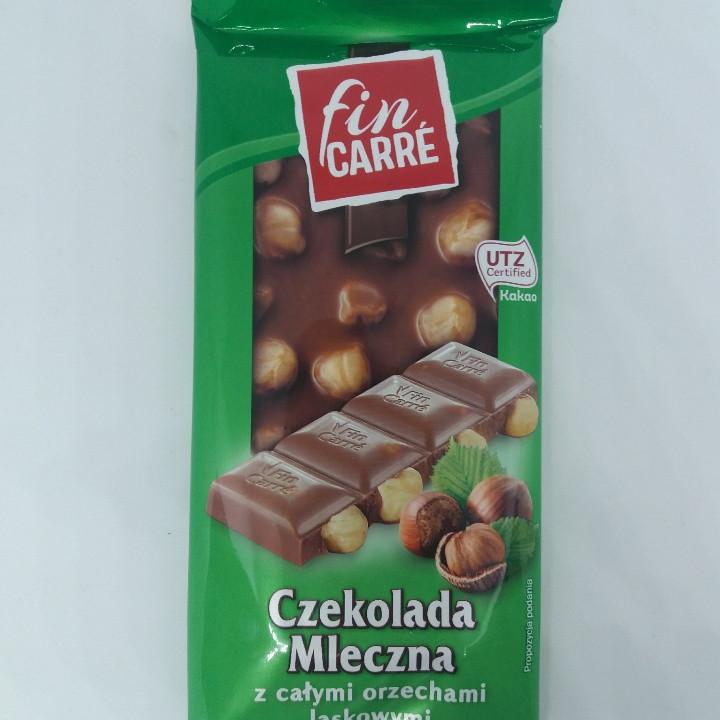 Fin carre czekolada mleczna