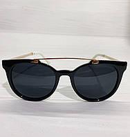 Солнцезащитные очки Miu Miu реплика Черные