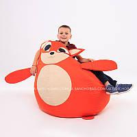 """Дитяче крісло-мішок """"Лисеня"""" S 90x60 см (тканина: оксфорд), фото 1"""