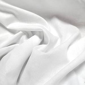 Ткань батист белый с напылением, Турция