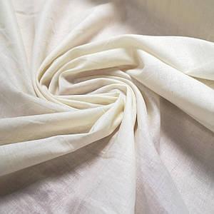 Ткань батист кремовый с напылением, Турция