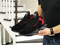 Мужские кроссовки Adidas Y-3 Kaiwa Male Black & Red