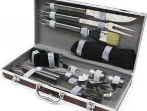 Набор для барбекю в чемодане комнатные электрические камины в краснодаре