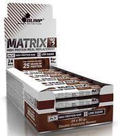 Протеиновые батончики Olimp Matrix Pro 32 Bar 24x80g упаковка