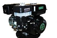 Двигатель бензиновый GrunWelt GW170F-S (CL) (центробежное сцепление, шпонка, вал 20 мм, 7.0 л.с.)