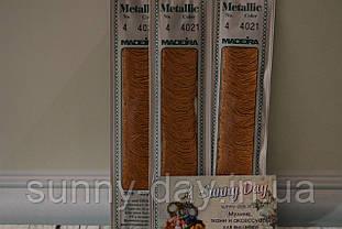 Мулине Madeira Metallic №4, цвет - 4021