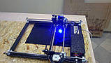 Лазерний гравер з ЧПУ, лазерний верстат, гравірувальний верстат 2,5 Вт, фото 4