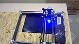 Лазерный гравер с ЧПУ, лазерный станок, гравировальный станок 2,5 Вт, фото 5