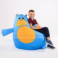 """Детское кресло-мешок """"Бегемотик"""" S 90x60 см (ткань: оксфорд), фото 1"""