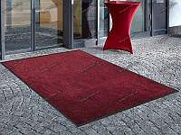 Грязезащитный ковер Париж красный