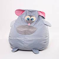 """Детское кресло-мешок """"Мышка"""" S 90x60 см (ткань: оксфорд), фото 1"""