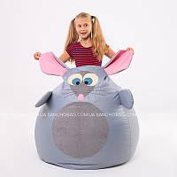 """Детское кресло-мешок """"Мышка"""" M 110x80 см (ткань: оксфорд)"""