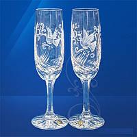 Свадебные бокалы хрустальные (180 мл/2шт.) Julia FS3281