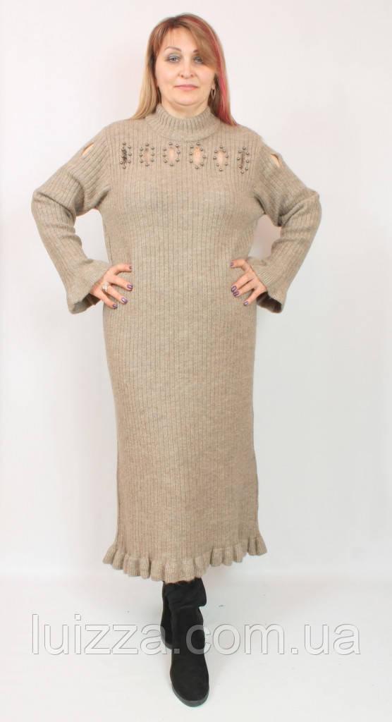 Женское турецкое платье Darkwin 58-60р