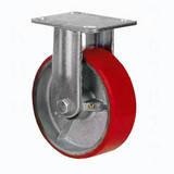 Колесо промышленное Ø 125 мм большегрузное на неповоротном ( глухом ) кронштейне