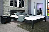 Кровать двуспальная дерево Доміно-3  160*200 сосна