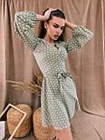 Женское нежное платье в горошек (в расцветках), фото 4
