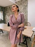 Женское нежное платье в горошек (в расцветках), фото 3