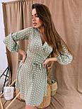 Женское нежное платье в горошек (в расцветках), фото 6