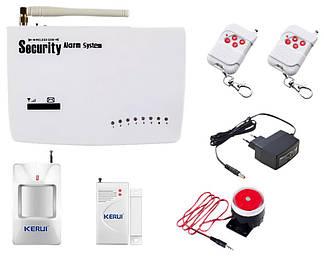 Охранная сигнализация Kerui G10 G10A  GSM