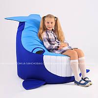 """Детское кресло-мешок """"Кит"""" S 70x65 см (ткань: оксфорд)"""