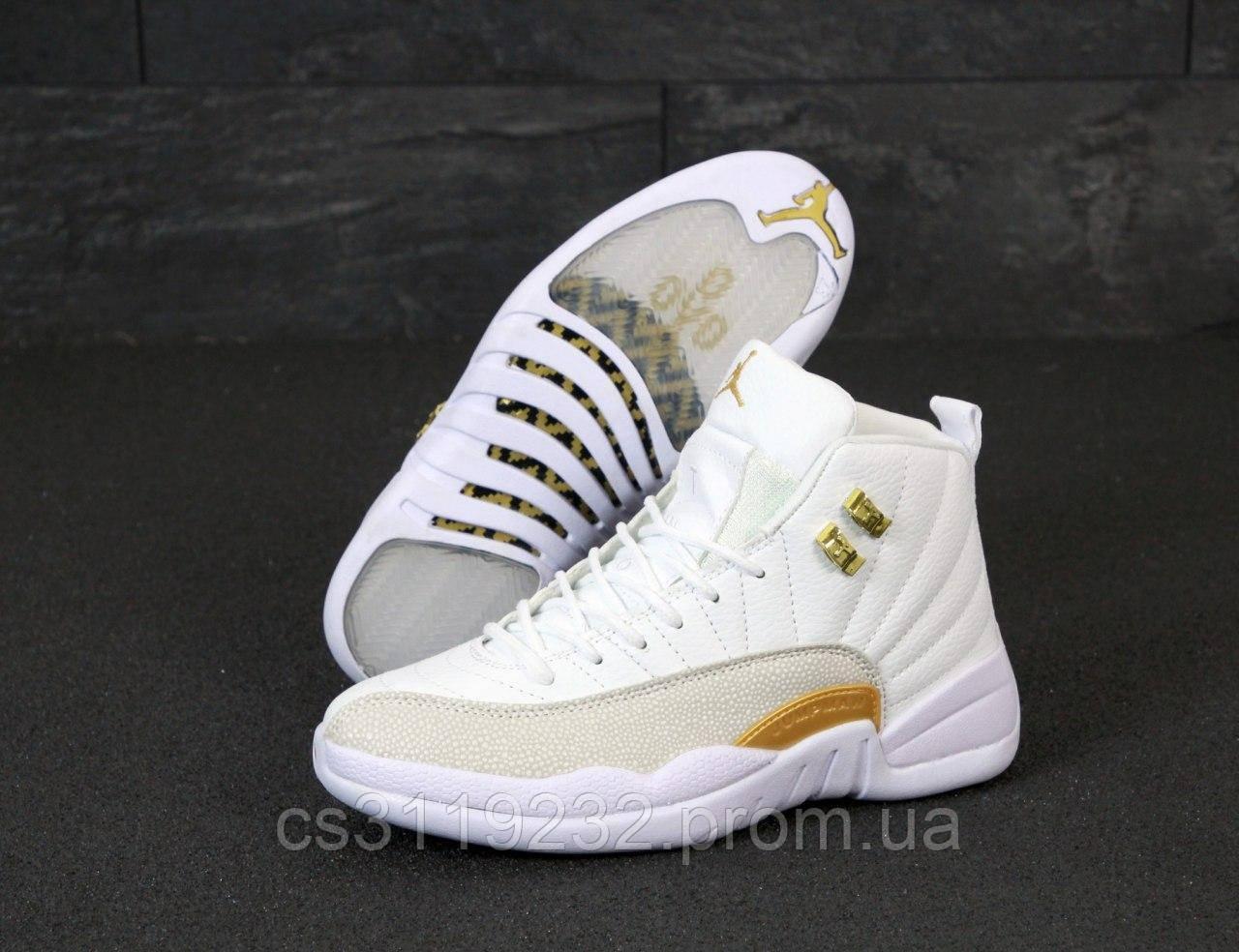 Чоловічі кросівки Nike Air Jordan White (білі)