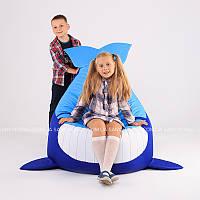 """Детское кресло-мешок """"Кит"""" M 90x80 см (ткань: оксфорд)"""