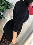 Женское платье-рубашка с кружевом (в расцветках), фото 3