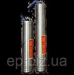 """4"""" трёхфазный (380В) погружной мотор 1,5 кВт для скважинного насоса стандарта NEMA"""