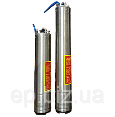 """4"""" трёхфазный (380В) погружной мотор 2,2 кВт для скважинного насоса стандарта NEMA"""
