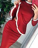 Женский костюм: кофта с баской и юбка-кардандаш (в расцветках), фото 2