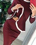 Женский костюм: кофта с баской и юбка-кардандаш (в расцветках), фото 6
