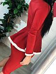 Женский костюм: кофта с баской и юбка-кардандаш (в расцветках), фото 8