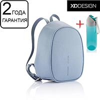 "Оригинал! Гарантия 2 года. Женский рюкзак антивор XD Design Bobby Elle 9.7"" голубой (P705.225)"