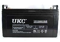 Гелиевый аккумулятор BATTERY 12V 120A UKC (Реальная ёмкость -40% = 72А)