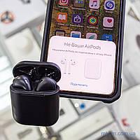 Гарнитура Bluetooth Hoco ES32 Original Black (black case) с беспроводной зарядкой [Оригинал]
